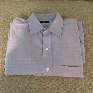 Club Room Shirt - Large / Blue